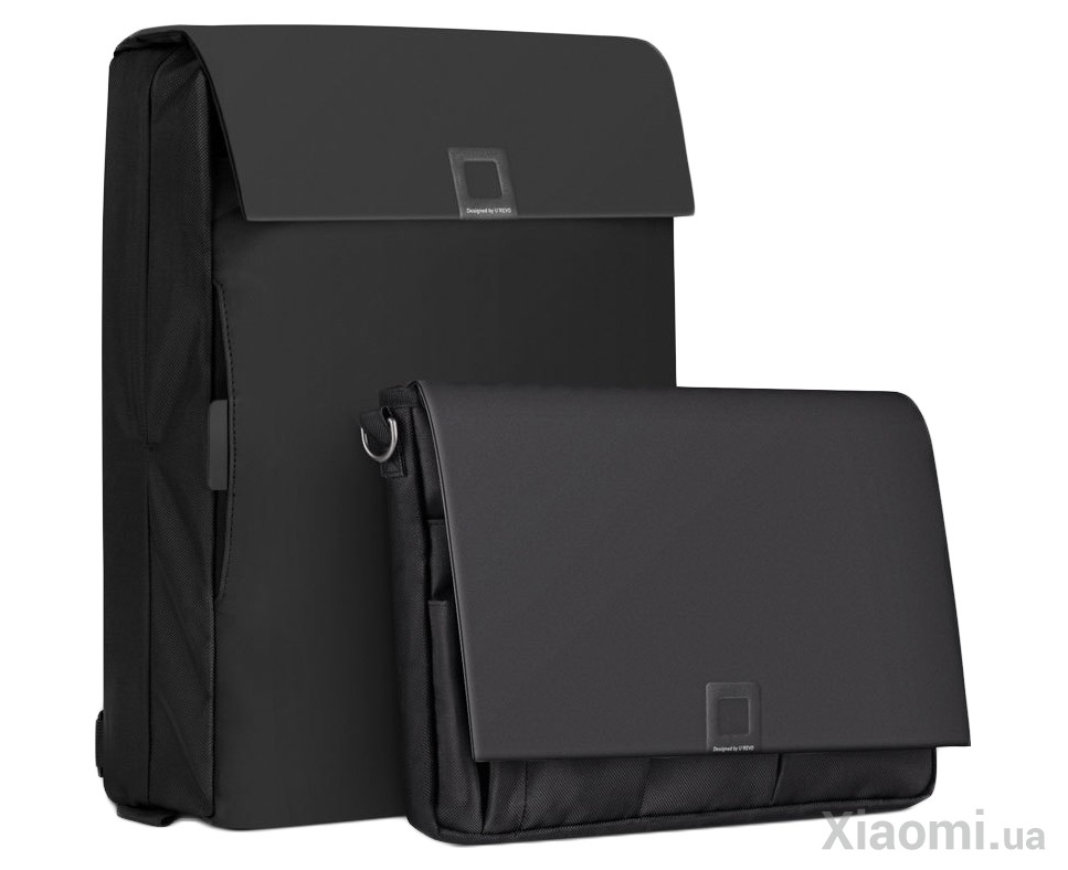 0a6305564bc0 Комплект Рюкзак+Сумка U'REVO City Business Multifunction Computer/Portable  Bag Black 2