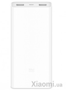 Универсальная батарея Xiaomi Mi power bank 2C 20000mAh White ORIGINAL