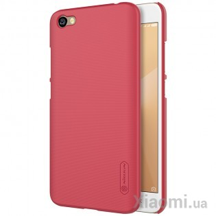 Чехол бампер Nillkin Frosted Shield Xiaomi RedMi Note 5A Red F-HC HM-NOTE 5A