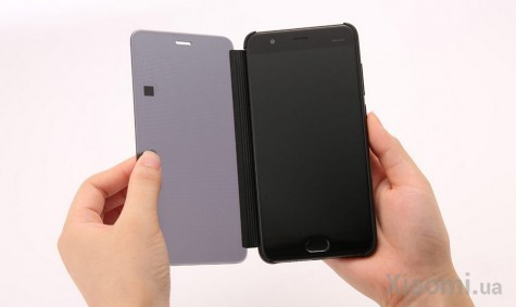 Чехол бампер Semi-transparent для Xiaomi Mi Note 3 Black Original 1173400003