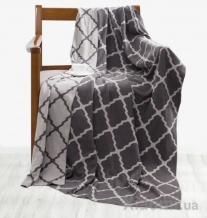 Плед Tonight Combed cotton knit blanket Grey 80*140 см
