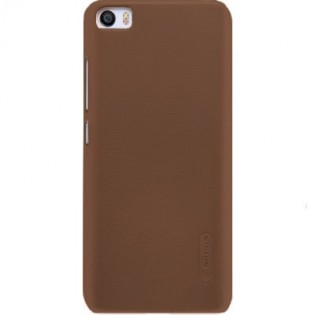 Чехол бампер Nillkin Frosted Shield для Xiaomi Mi 5S Brown F-HC XM